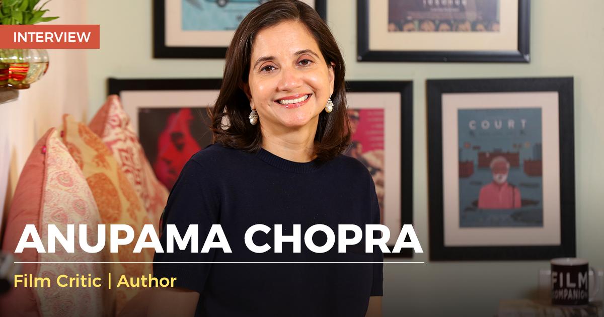 anupama chopra story
