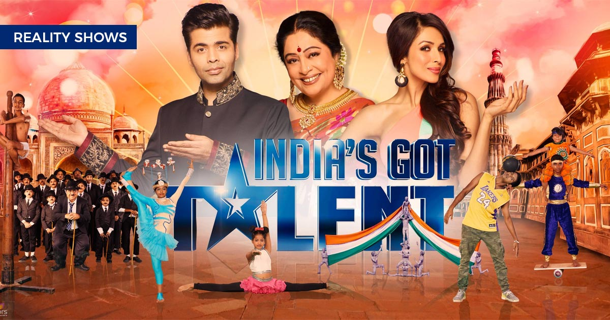 India's Got Talent Reality Shows Talentown